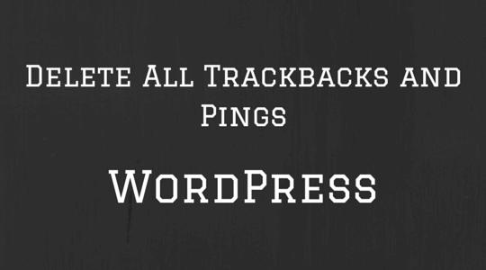 آموزش حذف کردن pingback در وردپرس
