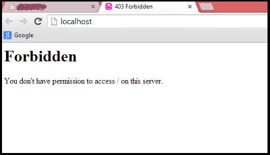 خطا ۴۰۳ Forbidden