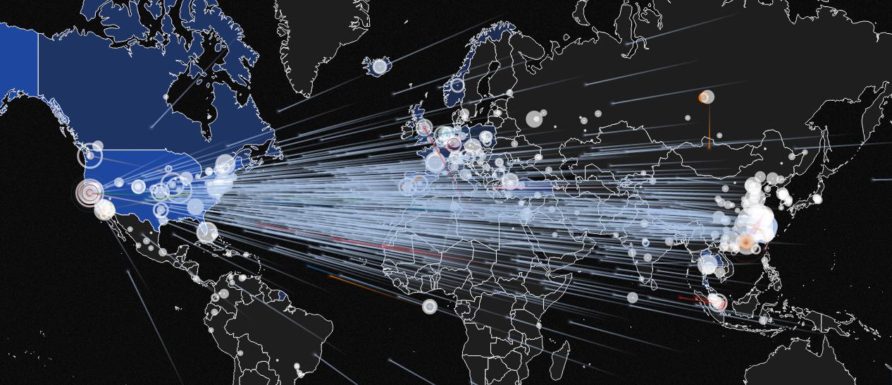 بزرگترین حمله DDOS دنیا