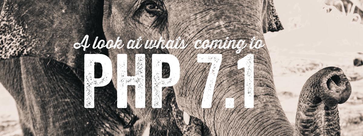 php 7.1 منتشر شد
